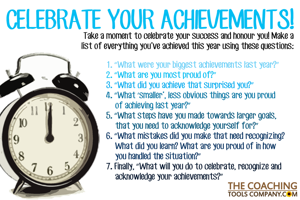 image showing bullet points about achievements